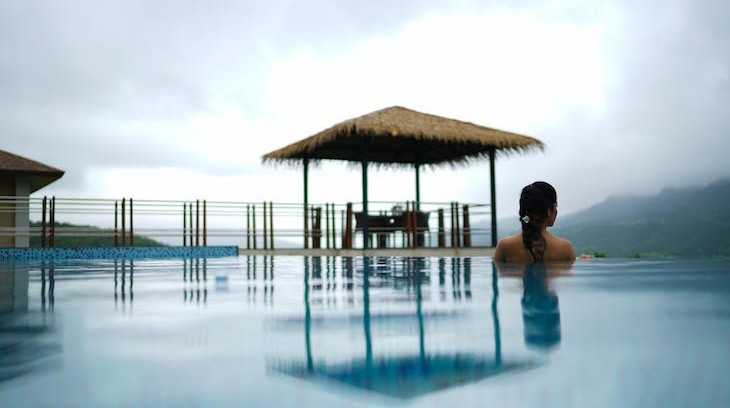 atmantan resort india infinity pool