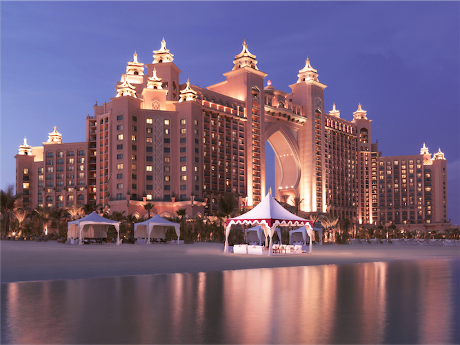 Dubai resorts: the Atlantis.