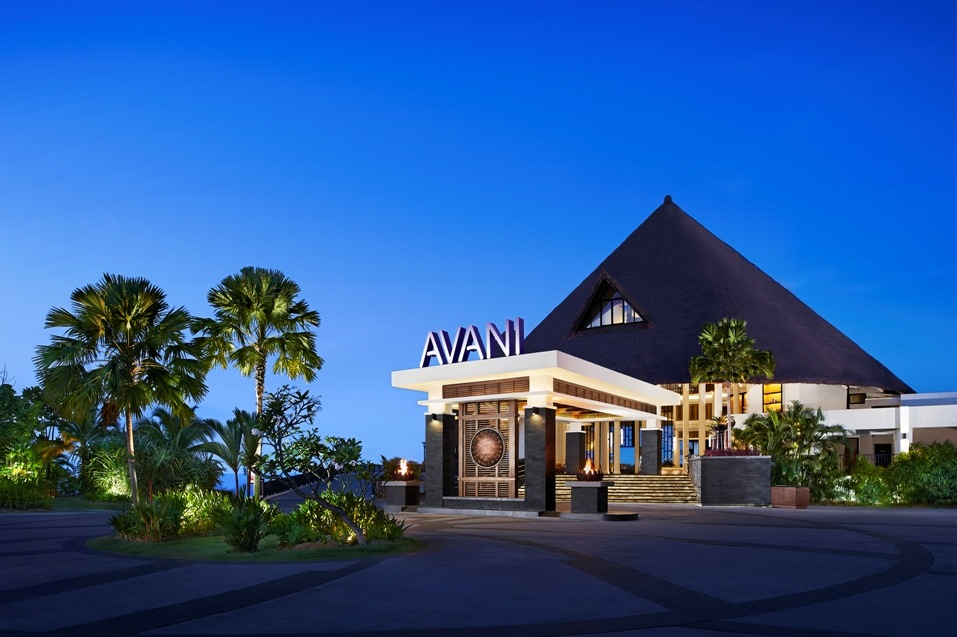 The exterior of the Avani Sepang Goldcoast Resort.