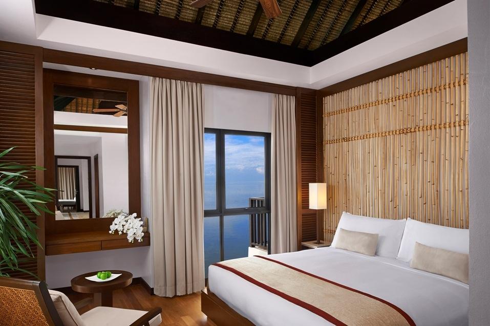 A king bedroom in an Avani villa.