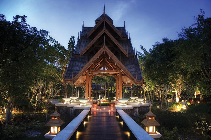 The property mixes Thai and Dai tribe, an indigenous group, influences to create its unique look.