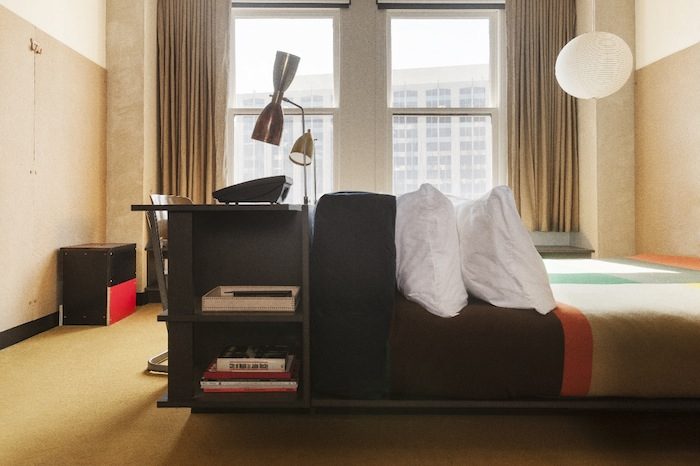 Select rooms come equipped with record players and recording equipment.