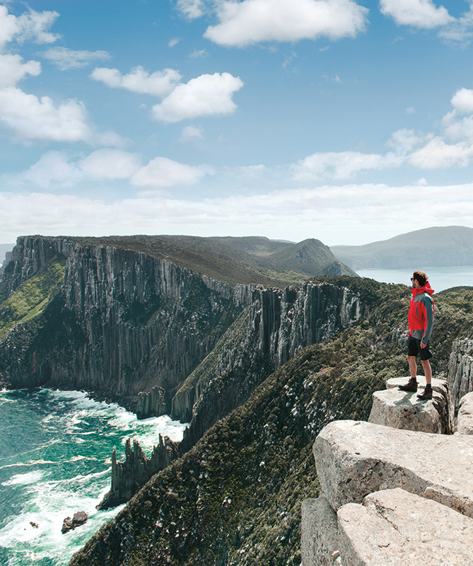 Ocean views from Tasmania's Three Capes Track.