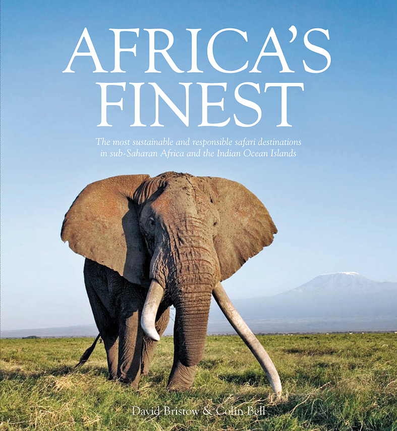 The cover of Africa's Finest.