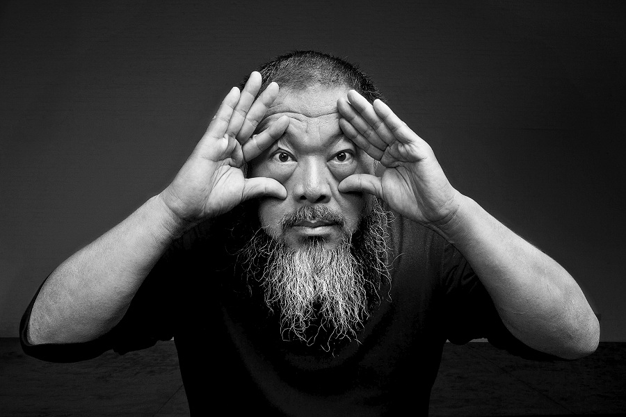 A portrait of Ai Weiwei by Gao Yuan.