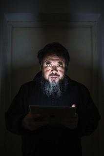 The artist, Ai Weiwei.