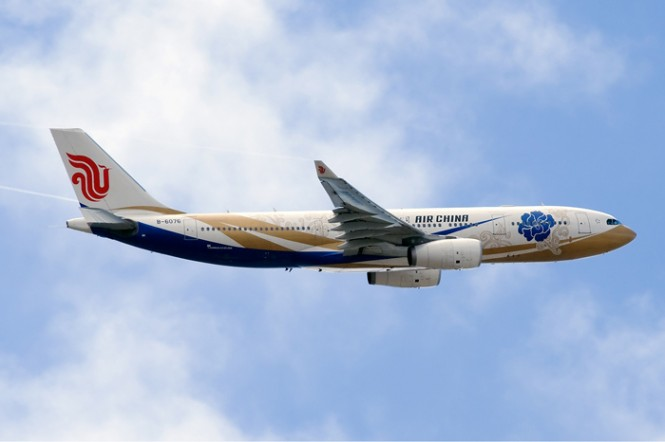 An A330 aircraft will replace Air China's B777 currently serving the route.