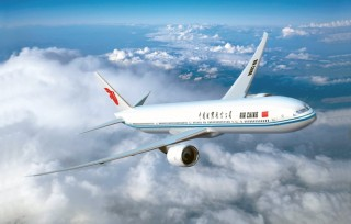 Air China's Boeing 777