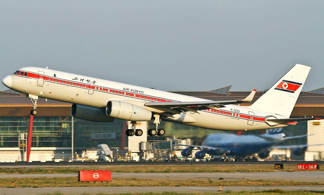 Air Koryo's Tupolev Tu-204 airplane.
