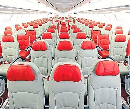 AirAsia X economy seats.