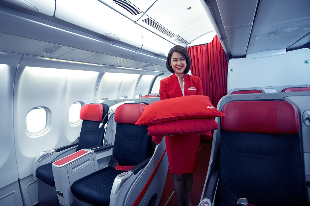 A warm welcome to AirAsia X's Premium Flatbed cabin.