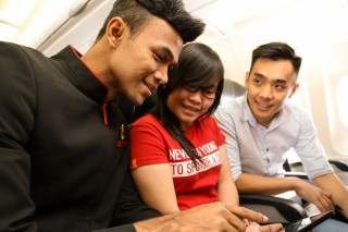 AirAsia will launch in-flight Wi-Fi by the end of this year.