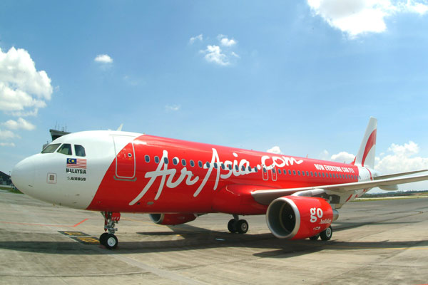 AirAsia's A320 craft will service the route.