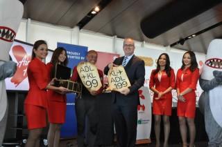 AirAsia X CEO Azran Osman-Rani and South Australia Tourism Minister Leon Bignell reveal special fares for the route.