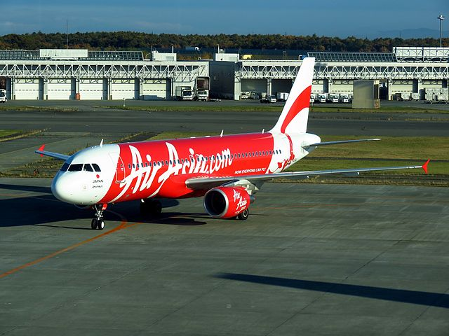 An AirAsia Japan A320. The airline will operate its last flight on October 26.