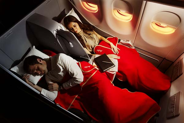 AirAsia X is the only low-cost carrier that offers lie-flat seats.