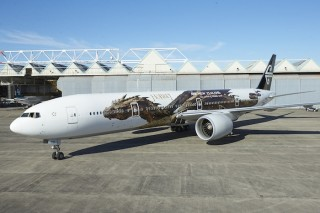 Air New Zealand's Hobbit-inspired livery.