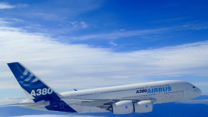 Iran Air will be buying up to 12 A380s from Airbus.