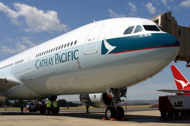 Image result for Cathay Pacific Airways