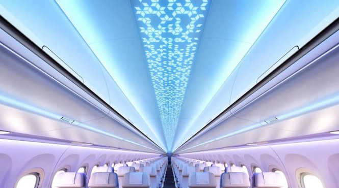 The newly revamped jets will have the biggest cabins in the industry.