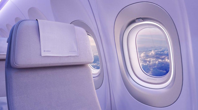 The new A320 will have bigger windows, giving passengers unobstructed views.