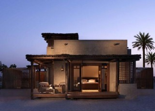 The villas were inspired by the local barasti houses.