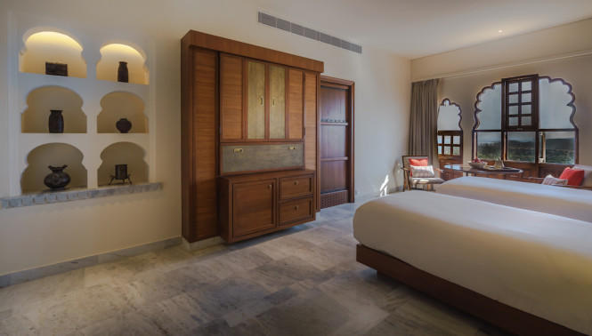 The Heritage Suites' furnishings were made by local artisans.