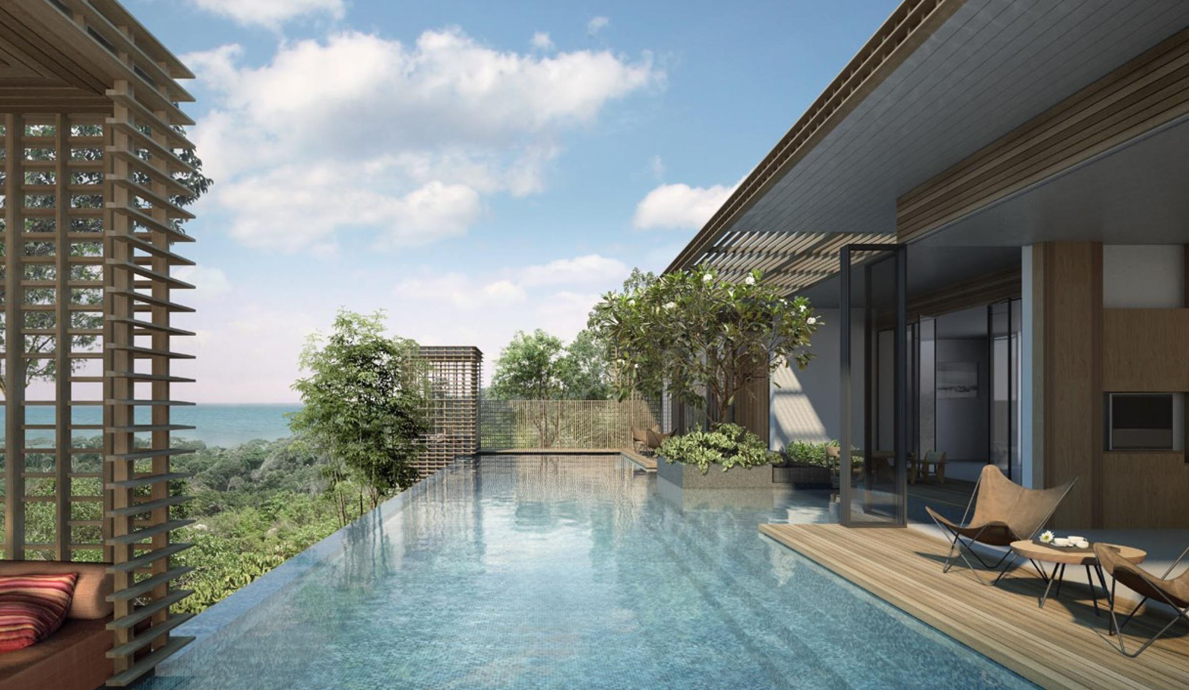 A two-bedroom pool villa at Alila Villas Bintan.