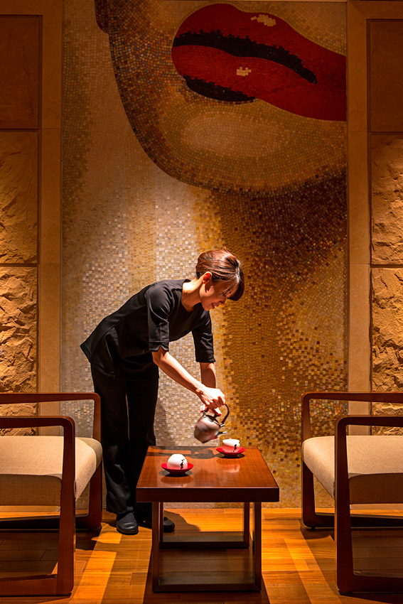 The hotel's spa has body and facial treatments.