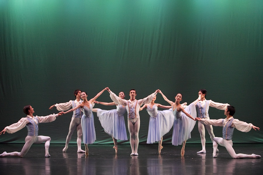 George Balanchine's exquisite Allegro Brillante will be performed in Malaysia in May.
