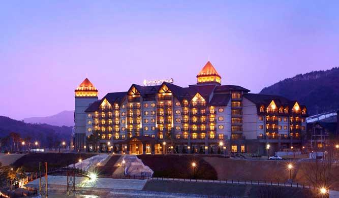 Alpensia Pyeongchang ski resort in South Korea.
