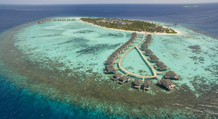 Amari Havodda Maldives is located on a private island hideaway on one of the most preserved atolls in the archipelago.