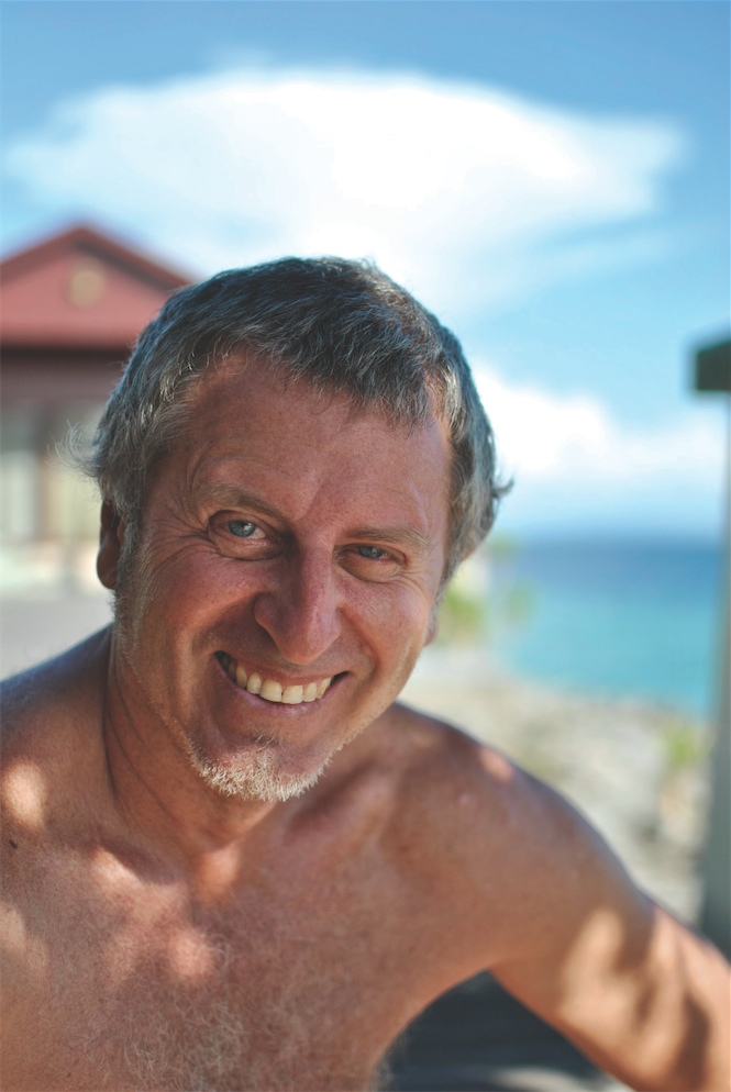 Amatore Peris Parra, owner of Amatoa resort.