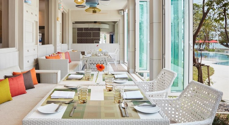 Amaya Food Gallery, the resort's newest dining venue.
