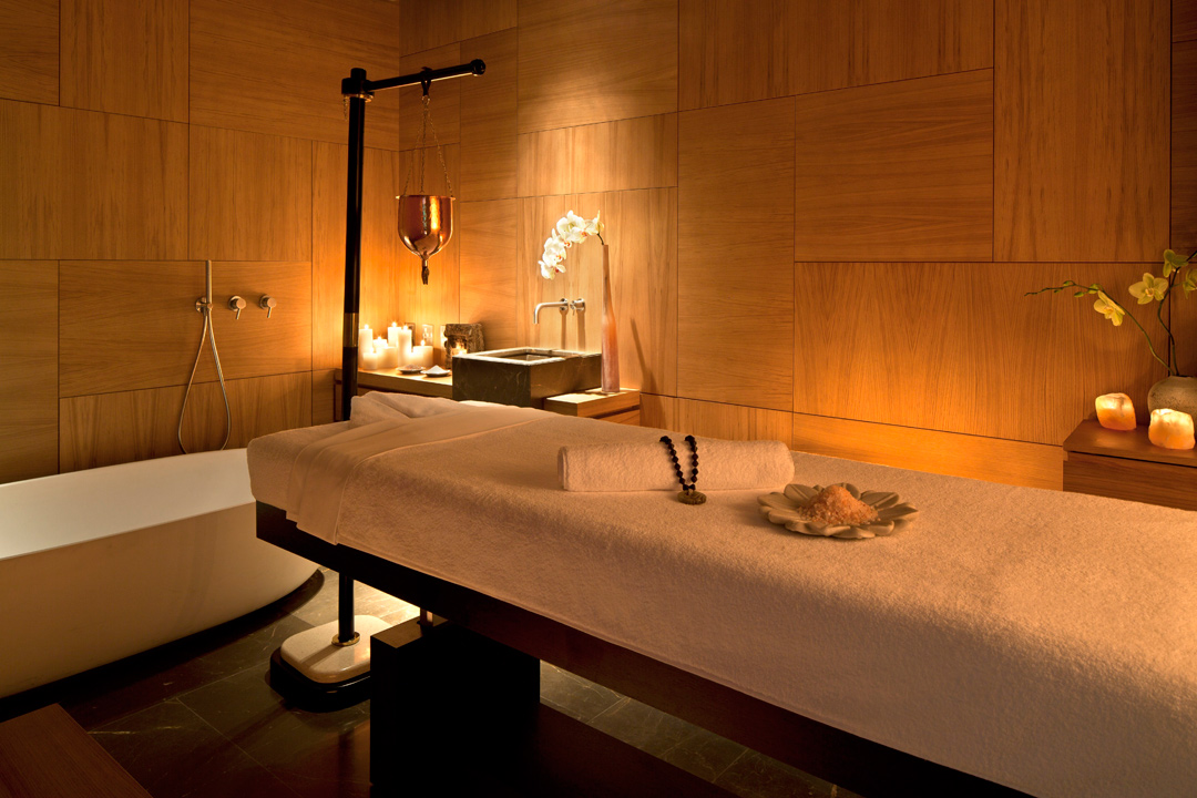 A treatment room at Akasha Holistic Wellbeing Centre.