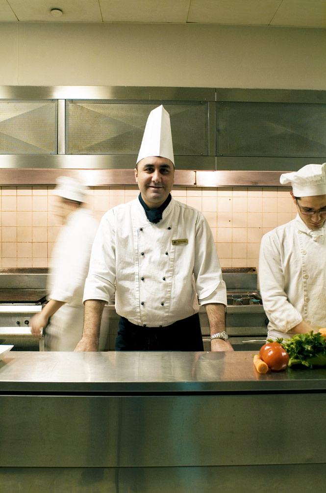 Chef Mohammed Haddad.