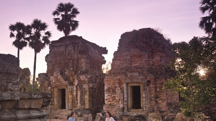 Anantara Angkor Sunrise Breakfast