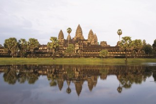 A guided tour of Angkor Wat is included in the package.