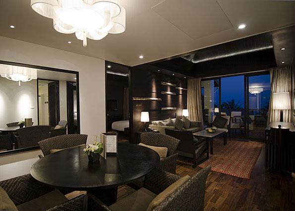 A two-bedroom suite at the newly renovated Anantara Bophut Resort and Spa.