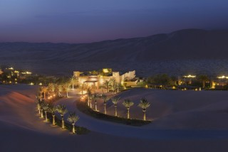 Evening cocktails, best enjoyed along with the desert's sunsets, are included in the villa packages.