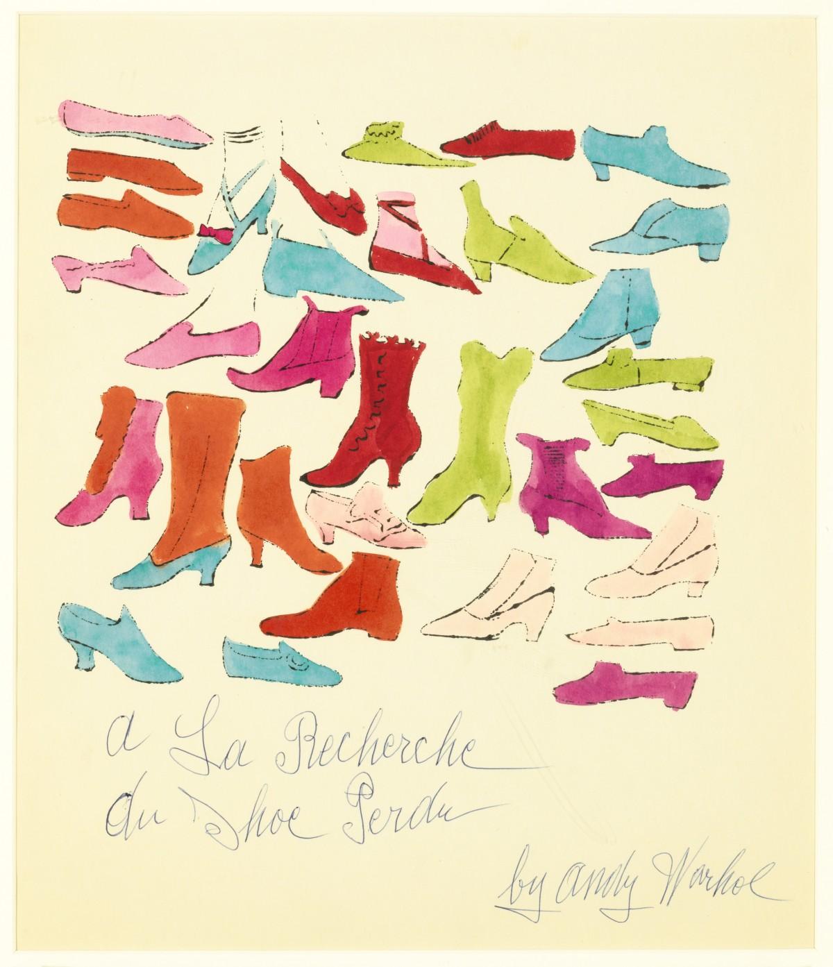Andy Warhol's A La Recherche du Shoe Perdu.