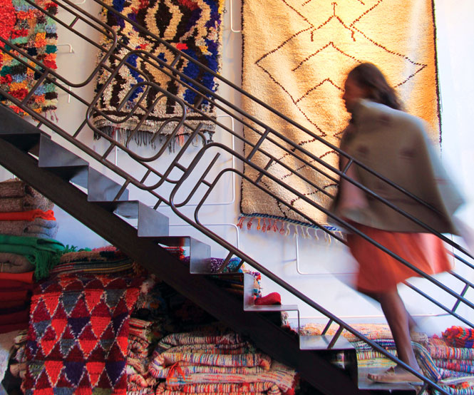 Retro-chic carpet shop Anitan.