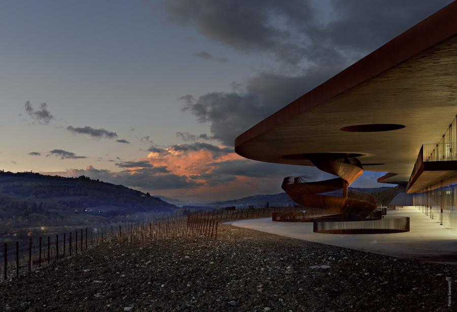 Antinori will be paired with the resort's modern Italian cuisine.