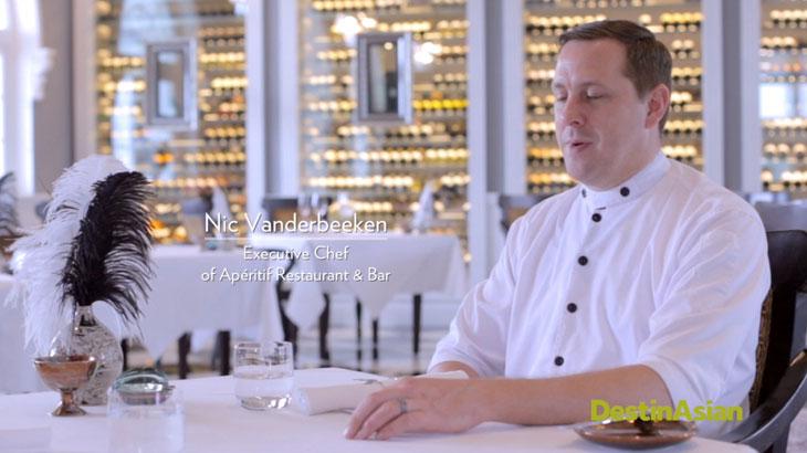 Aperitif Restaurant, Chef Nick Vanderbeeken