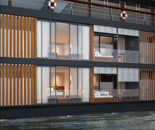 Aqua Mekong Outdoor Guest Beds