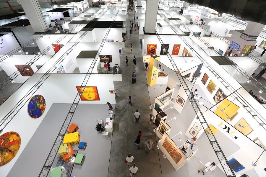 An overview of Art Stage Singapore.
