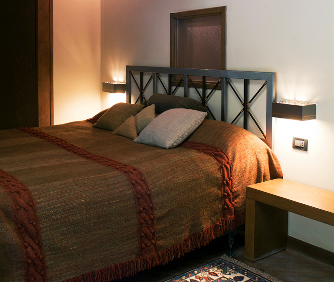 A room at the Debed Canyon's Avan Dzoraget Hotel.