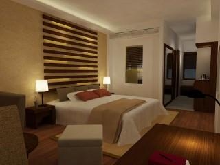 A room in the Avani Bentota Resort & Spa in Sri Lanka.