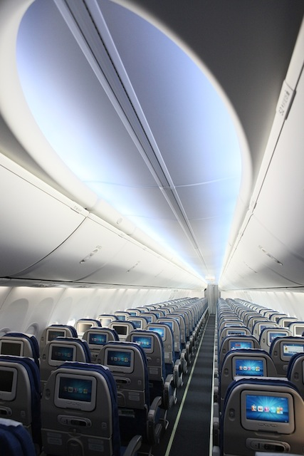The airline's B737-800s are equipped with Avod in-flight entertainment systems.