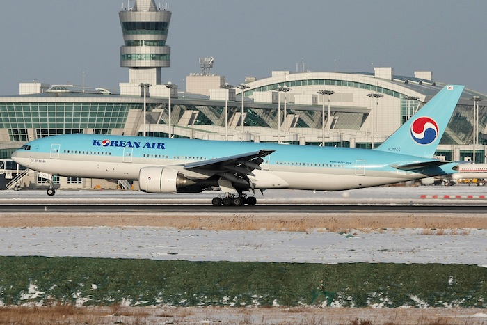 A Boeing 777-200 will serve Korean Air's new route to Houston.